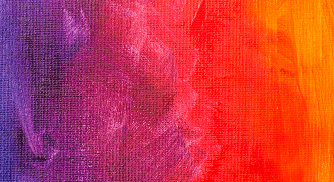 Different shades of red and orange merge into purple.