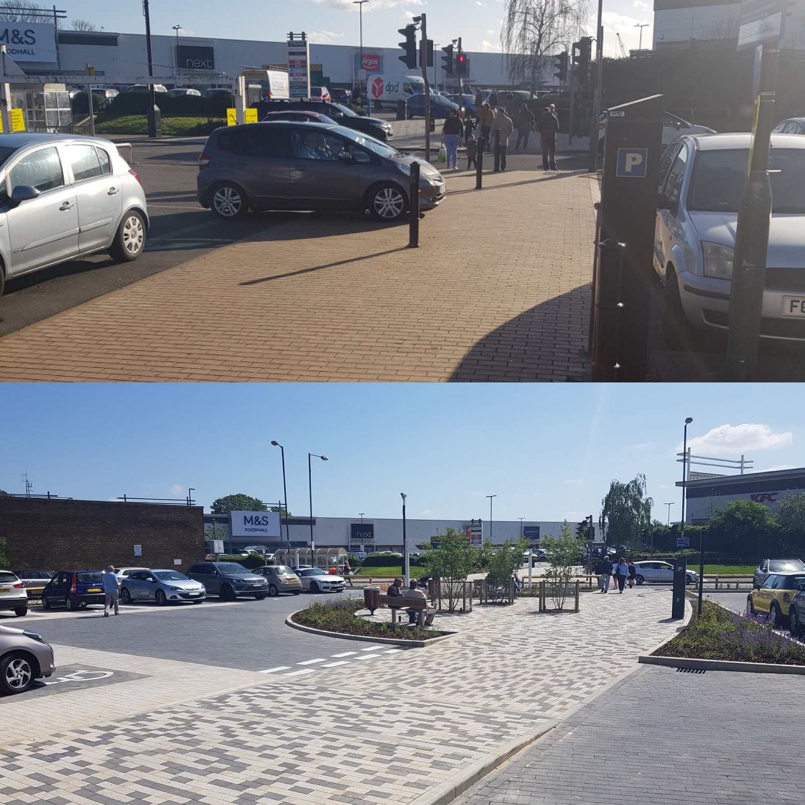 Transformation of Commercial Road car park