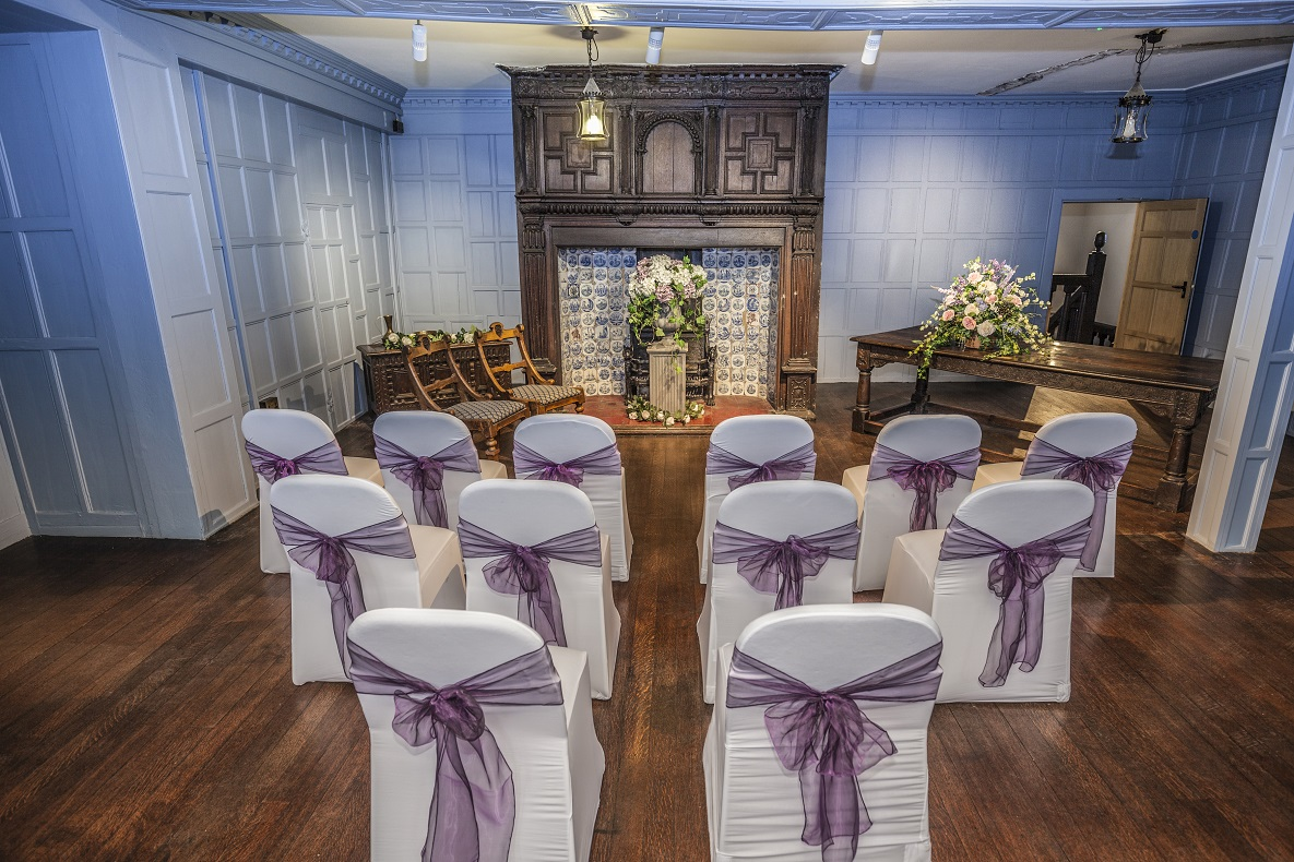 Eastgate house wedding room