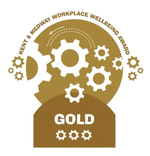 Kent and Medway Workplace Wellbeing Award - Gold