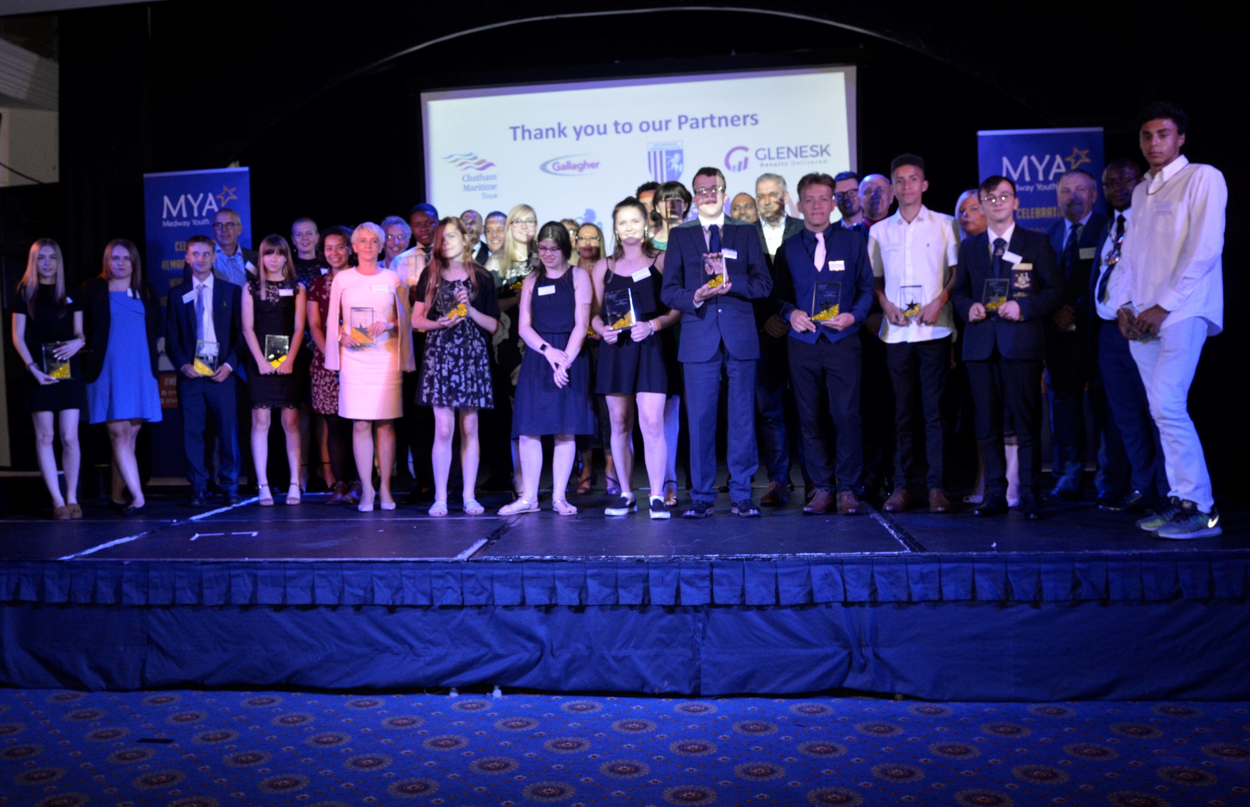 Medway Youth Award winners