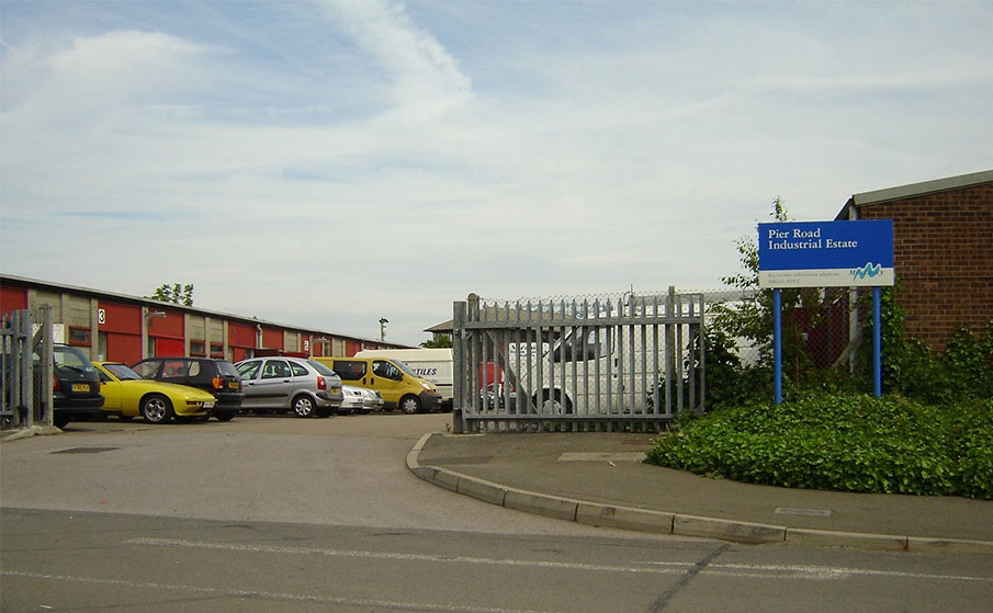 Pier road industrial estate