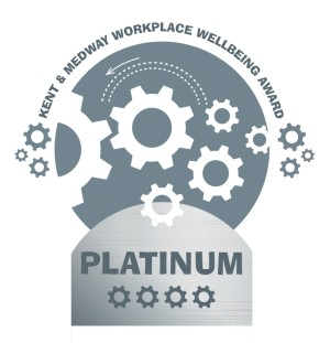 Kent and Medway Workplace Wellbeing Award - Platinum