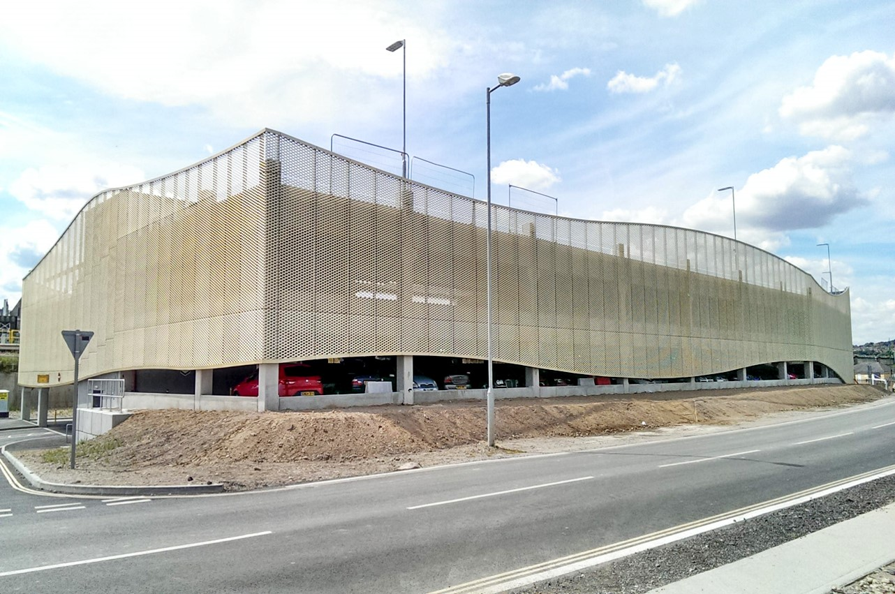 Multi storey car park opened