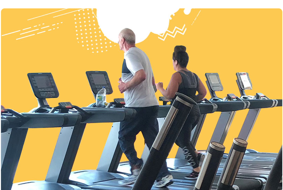 People on treadmill at Strood gym