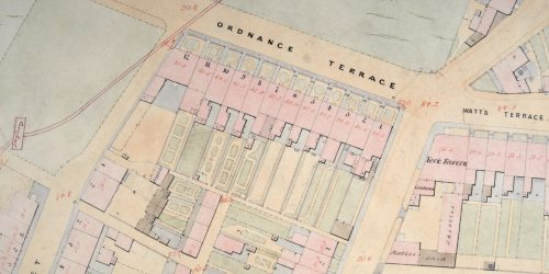 Chatham Board of Health Map Survey of 1852
