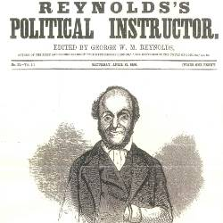 Front cover of Reynolds Political Instructor showing William Cuffay