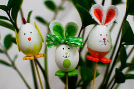Decorated eggs, Easter crafts