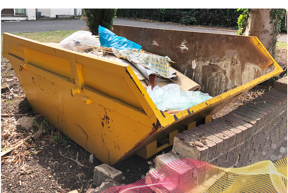 Picture of a skip