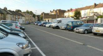 Cars parked in Medway