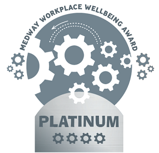 Healthy workplaces platinum award