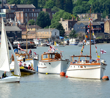 Ships at River Festival