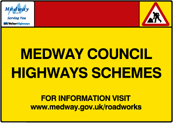 Medway Council highways schemes www.medway.gov.uk/roadworks