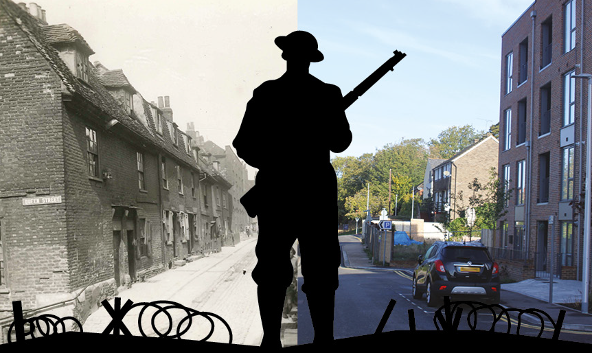 Soldiers' stories on our streets