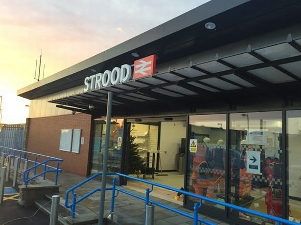 Strood train station re-opens