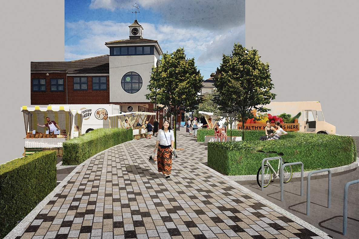 Strood town centre visual