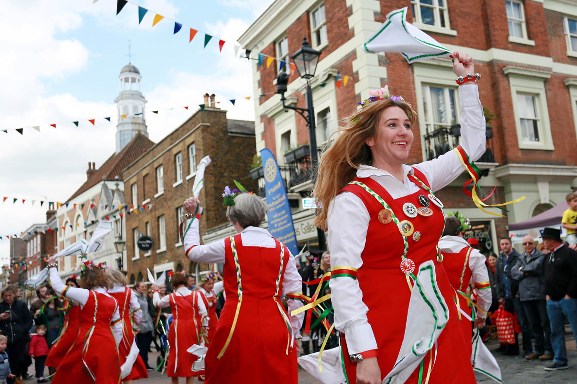 Sweeps festival parades