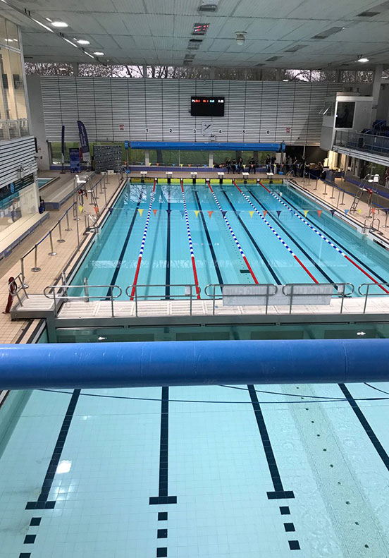 Medway Park swimming pool