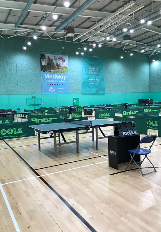 Medway Park table tennis
